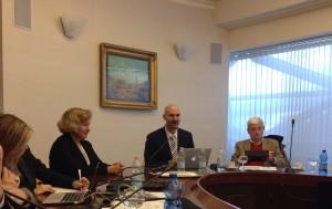 Predstavljanje Asocijacije na sastanku Borda direktora EUPH u Milanu